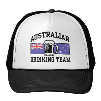Australian Drinking Team Trucker Hat