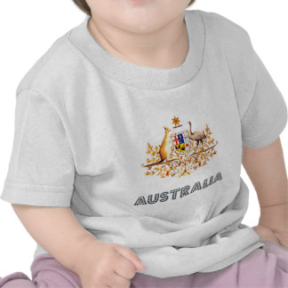 Australian Emblem Tee Shirts