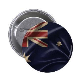 Australian Flag 1.png 6 Cm Round Badge