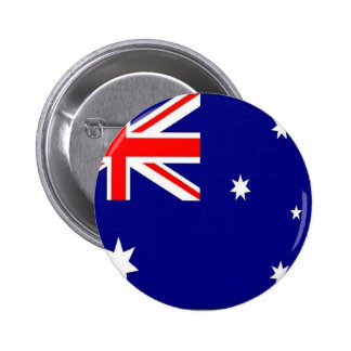 Australian Flag 6 Cm Round Badge