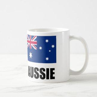 "Australian Flag / ""Aussie"" Coffee Mug"