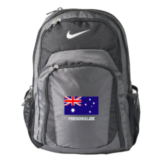 Australian flag Australia pride personalized Backpack