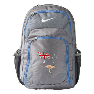 Australian flag backpack