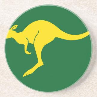Australian Flag Beverage Coaster