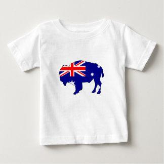 Australian Flag - Bison Baby T-Shirt