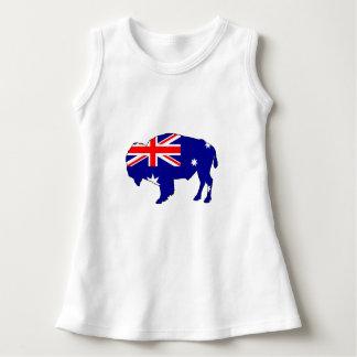 Australian Flag - Bison Dress