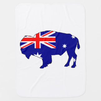 Australian Flag - Bison Pramblankets