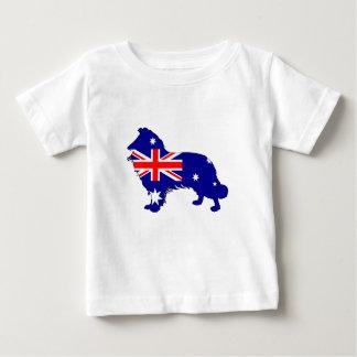 Australian Flag - Border Collie Baby T-Shirt