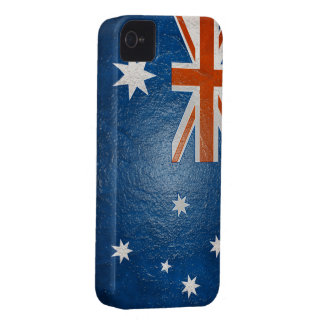 Australian Flag Buff BlackBerry Bold Case-Mate iPhone 4 Covers