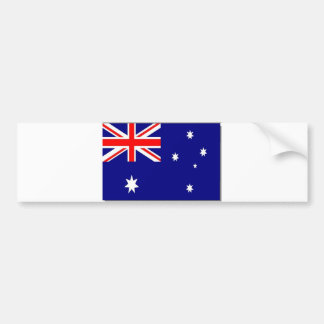 Australian Flag Bumper Sticker
