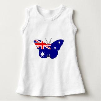 Australian Flag - Butterfly Dress
