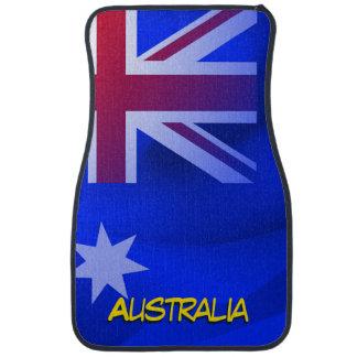 Australian flag car mat