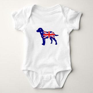 Australian Flag - Chesapeake Bay Retriever Baby Bodysuit