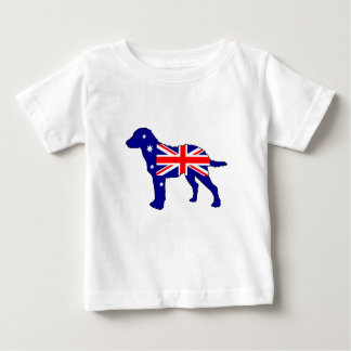 Australian Flag - Chesapeake Bay Retriever Baby T-Shirt
