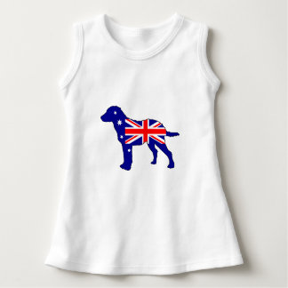 Australian Flag - Chesapeake Bay Retriever Dress