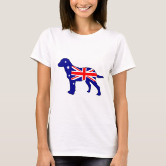 Australian Flag - Chesapeake Bay Retriever T-Shirt