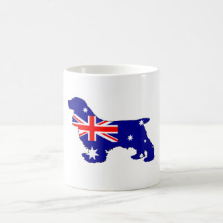 Australian Flag - Cocker Spaniel Coffee Mug