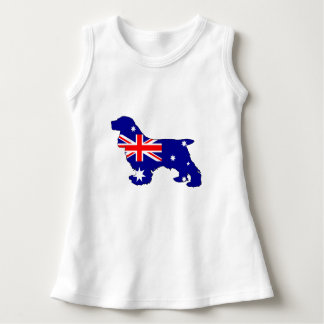 Australian Flag - Cocker Spaniel Dress