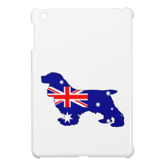 Australian Flag - Cocker Spaniel iPad Mini Cases