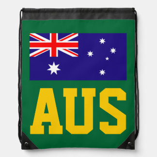 Australian flag drawstring bag | Aussie backpack