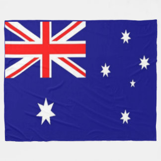 AUSTRALIAN FLAG FLEECE BLANKET