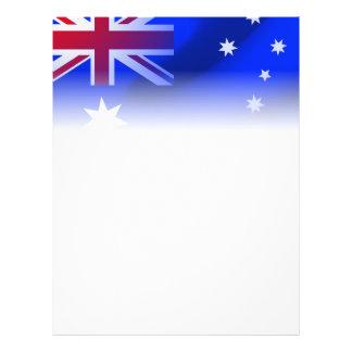 Australian flag flyer