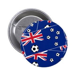 Australian Flag Football 6 Cm Round Badge