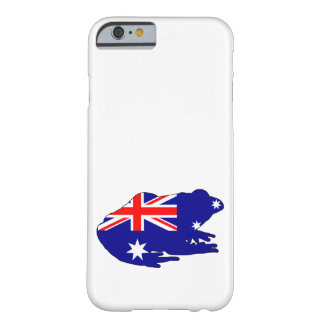 Australian Flag - Frog Barely There iPhone 6 Case