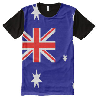 Australian Flag full All-Over Print T-Shirt