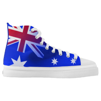 Australian flag high tops