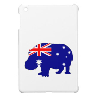 Australian Flag - Hippopotamus iPad Mini Cover