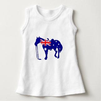 Australian Flag - Horse Dress