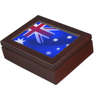 Australian flag keepsake box
