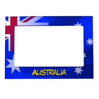 Australian flag magnetic picture frame