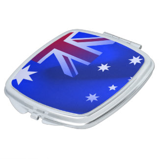 Australian flag makeup mirrors