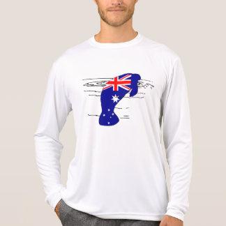 Australian Flag - Manatee T-Shirt
