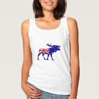 Australian Flag - Moose Singlet