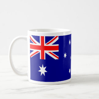 Australian Flag Mug Wide Version