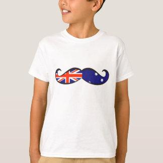 Australian Flag Mustache T Shirt