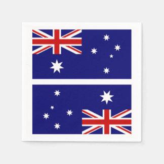 Australian Flag Naplins Paper Napkin