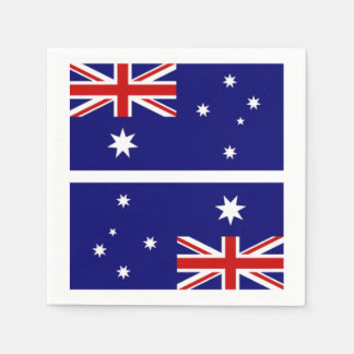 Australian Flag Naplins Paper Napkins