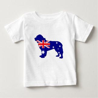 Australian Flag - Newfoundland Dog Baby T-Shirt