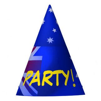Australian flag party hat