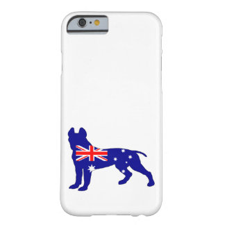 Australian Flag - Pit Bull Terrier Barely There iPhone 6 Case