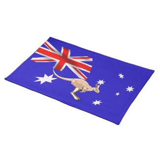 Australian flag placemat