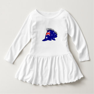 Australian Flag - Porcupine Dress