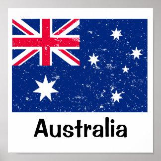 Australian Flag Poster