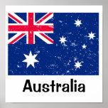 Australian Flag Posters