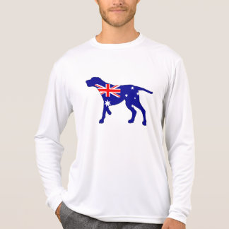 Australian Flag - Redbone Coonhound T-Shirt