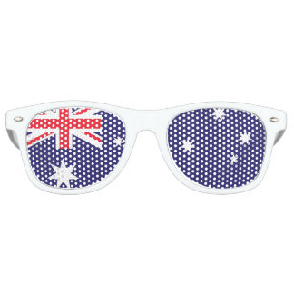 Australian Flag Retro Sunglasses